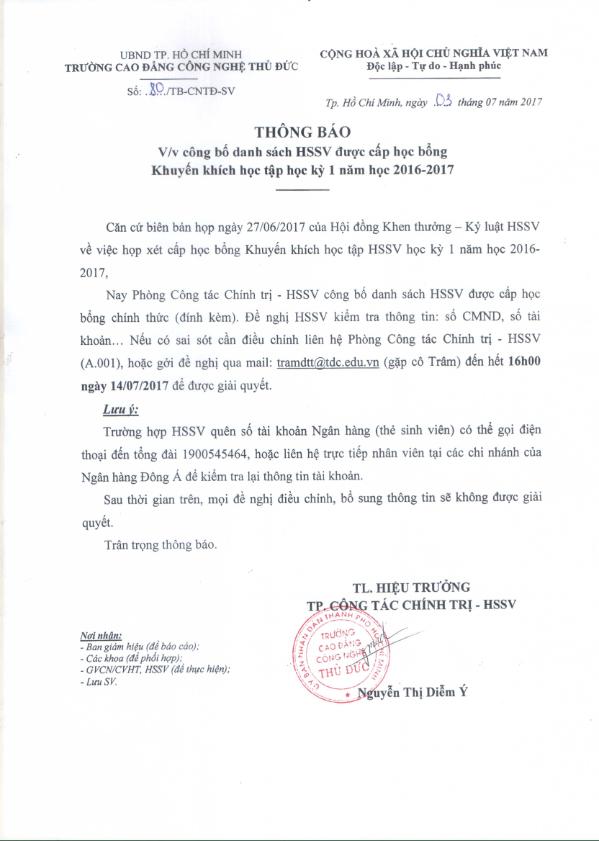 4. TB - DSSV DUOC CAP HOC BONG HK1 NH 16-17_001