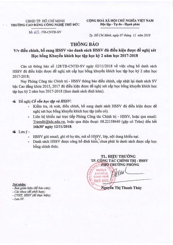 2. TB DIEU CHINH DS HSSV VAO DU DIEU KIEN XET HBKKHT HK2 NH 17-18_001